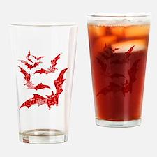 Vintage, Bats Drinking Glass