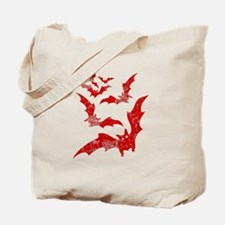 Vintage, Bats Tote Bag