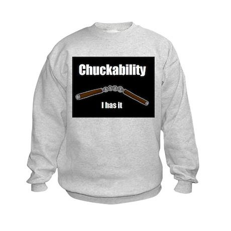 Chuckability Kids Sweatshirt