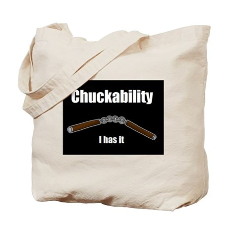 Chuckability Tote Bag