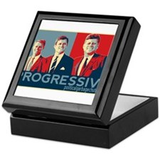"Kennedy Brothers - ""PROGRESSIVE"" Keepsake Box"