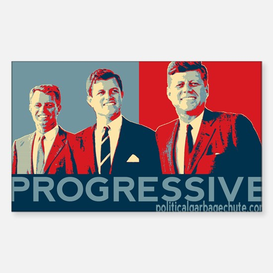 "Kennedy Brothers - ""PROGRESSIVE"" Decal"