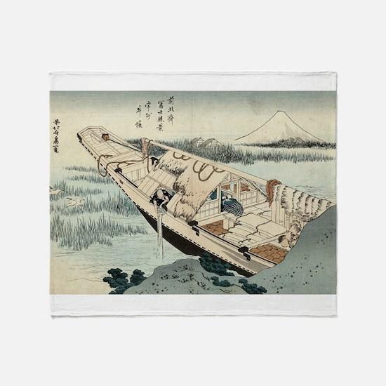 Shibori of Joshu - Hokusai Katsushika - 1849 Throw