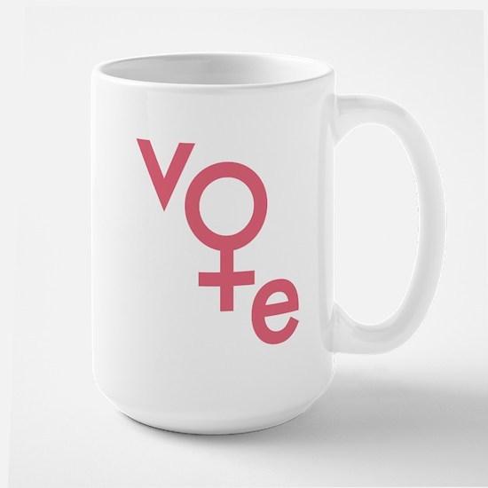 Women Vote Large Mug