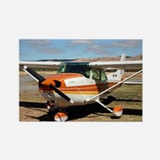Plane: high wing Rectangle Magnet
