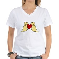 Twin Yellow Labs Shirt
