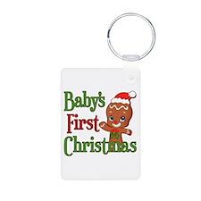 Gingerbreadman 1st Christmas Keychains