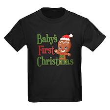 Gingerbreadman 1st Christmas T