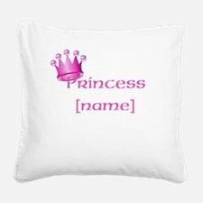 Personlized Princess Square Canvas Pillow