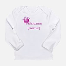 Personlized Princess Long Sleeve Infant T-Shirt