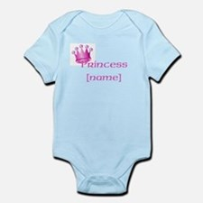 Personlized Princess Infant Bodysuit