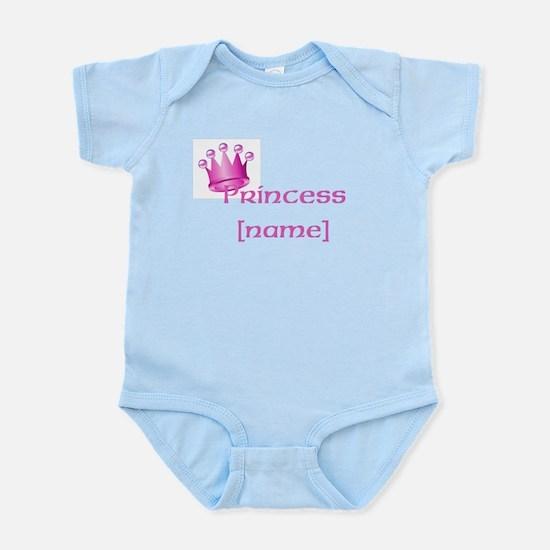 Personlized Princess Infant Bodysuit