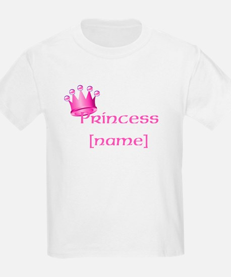 Personlized Princess T-Shirt