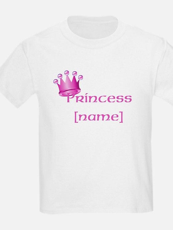Personlized Princess T-Shirt