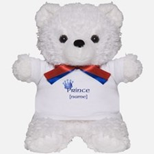 Prince with Personalized name Teddy Bear