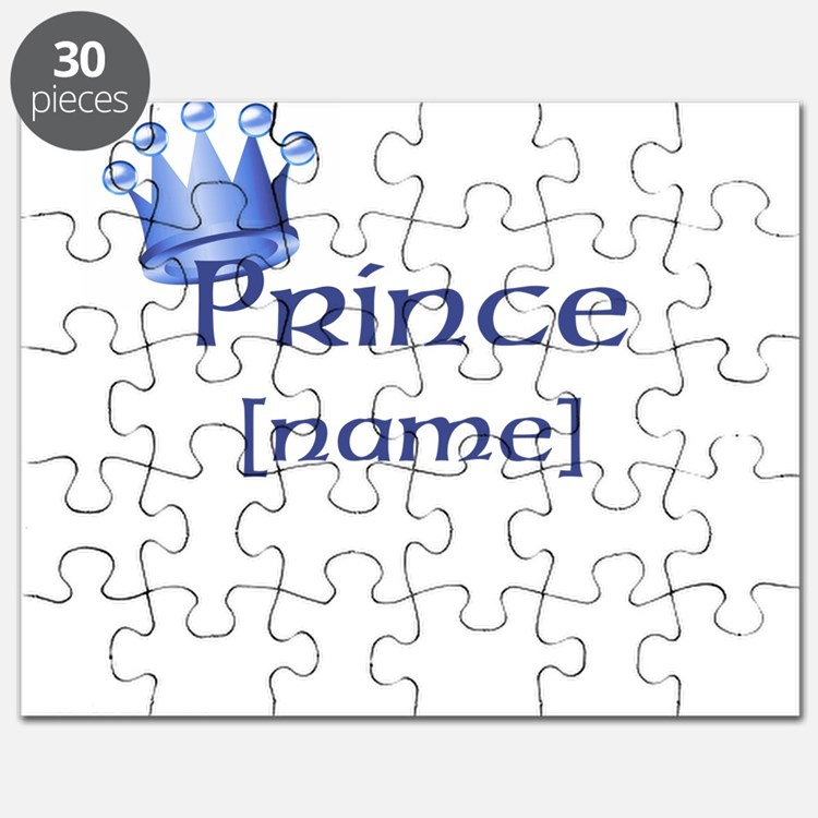 Prince with Personalized name Puzzle