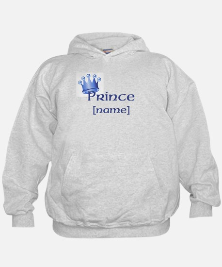 Prince with Personalized name Hoodie