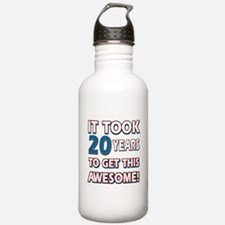 20 Year Old birthday gift ideas Water Bottle