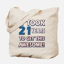 21 Year Old birthday gift ideas Tote Bag
