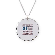 21 Year Old birthday gift ideas Necklace
