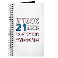 21 Year Old birthday gift ideas Journal