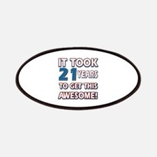 21 Year Old birthday gift ideas Patches