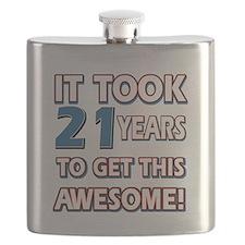 21 Year Old birthday gift ideas Flask