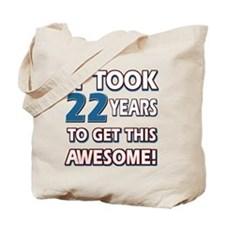 22 Year Old birthday gift ideas Tote Bag