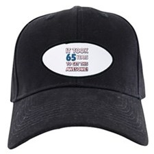 65 Year Old birthday gift ideas Baseball Hat