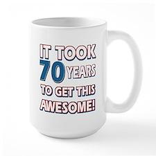 70 Year Old birthday gift ideas Mug