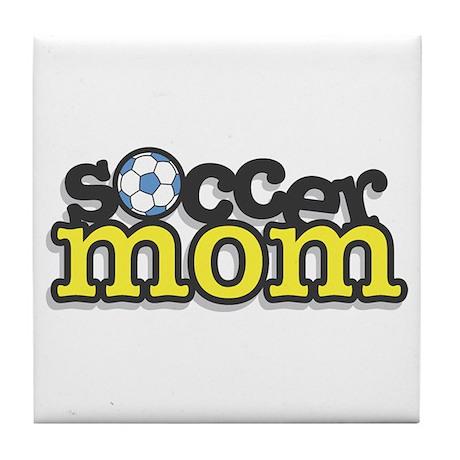 Soccer Mom Tile Coaster