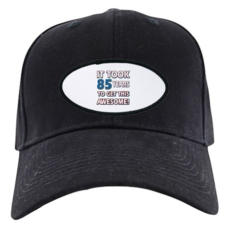 85 Year Old birthday gift ideas Black Cap