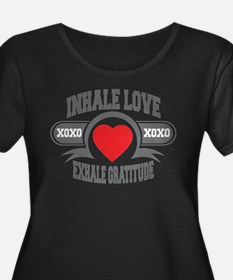 Inhale Love, Exhale Gratitude T