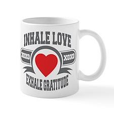 Inhale Love, Exhale Gratitude Mug