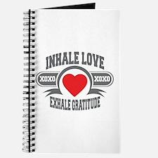 Inhale Love, Exhale Gratitude Journal