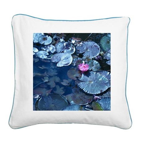 Lilypad Collection - Square Canvas Pillow