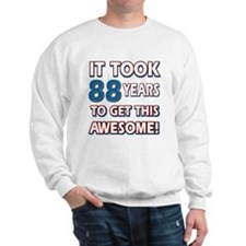 88 Year Old birthday gift ideas Sweatshirt