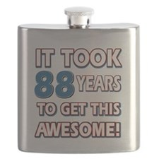 88 Year Old birthday gift ideas Flask