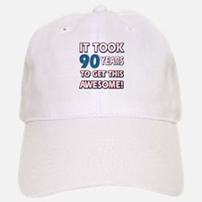 90 Year Old birthday gift ideas Baseball Baseball Cap