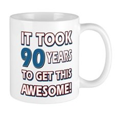 90 Year Old birthday gift ideas Mug
