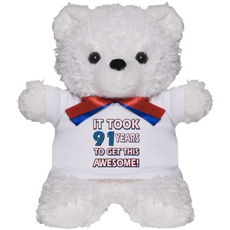 91 Year Old birthday gift ideas Teddy Bear