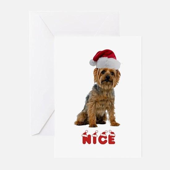 Nice Silky Terrier Greeting Cards (Pk of 20)