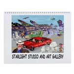 Starlight 2013 Wall Calendar.