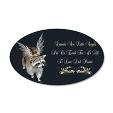Animals Are Little Angels Wall Decal