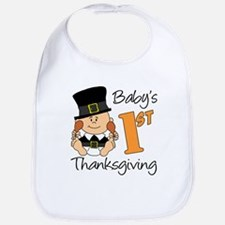 Boys First Thanksgiving Bib
