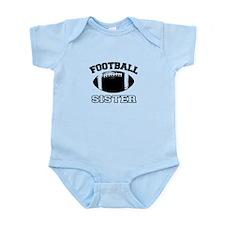 Football Sister Baby Bodysuit