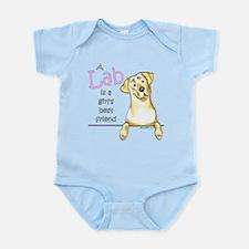 Yellow Lab BF Infant Bodysuit