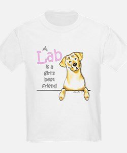 Yellow Lab BF T-Shirt