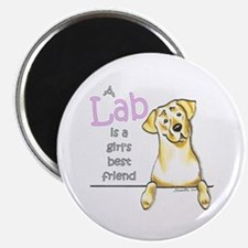 """Yellow Lab BF 2.25"""" Magnet (10 pack)"""