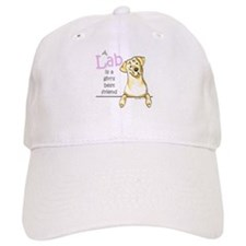Yellow Lab BF Baseball Cap